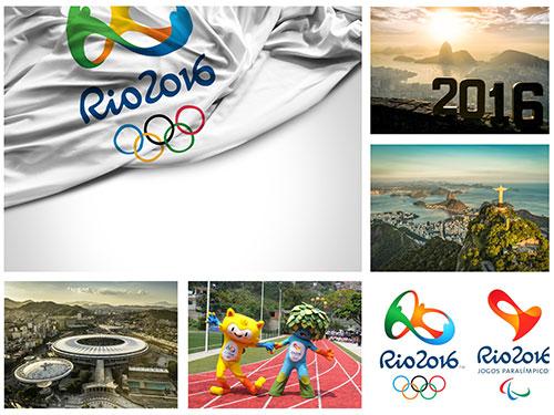 مجموعه عکس و وکتور های المپیک ریو